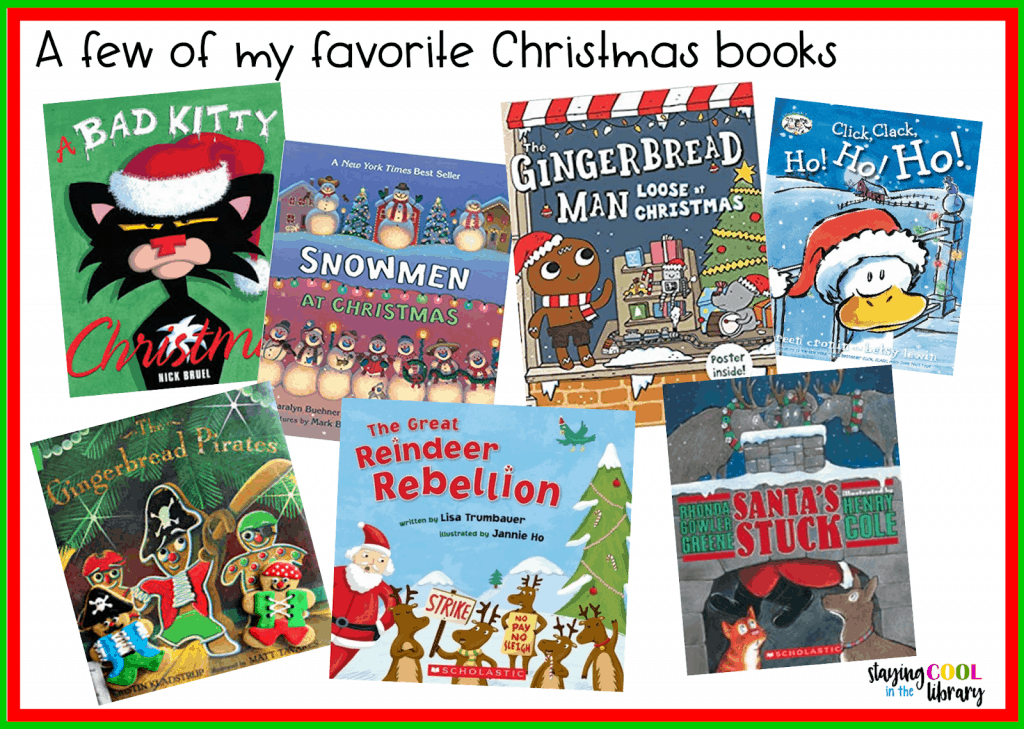 Favorite Christmas picture books
