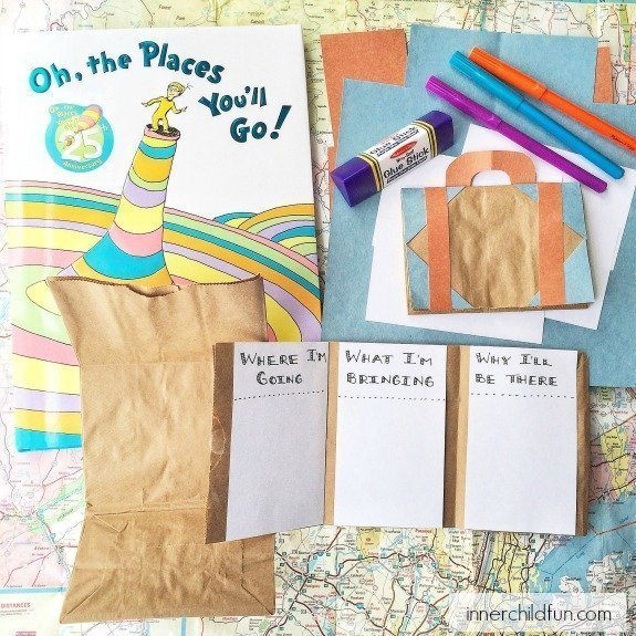 Oh, the Places You'll Go Activity