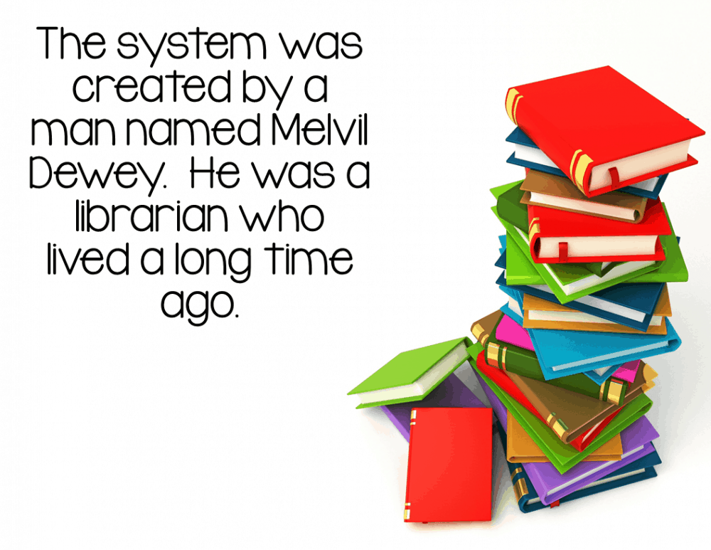 Dewey Decimal System Introduction PowerPoint Lesson