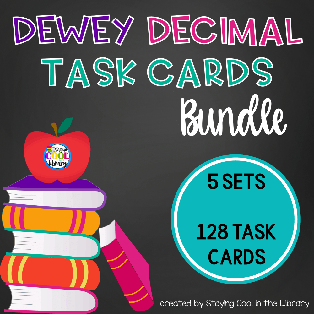Dewey Decimal Task Cards {Bundle}