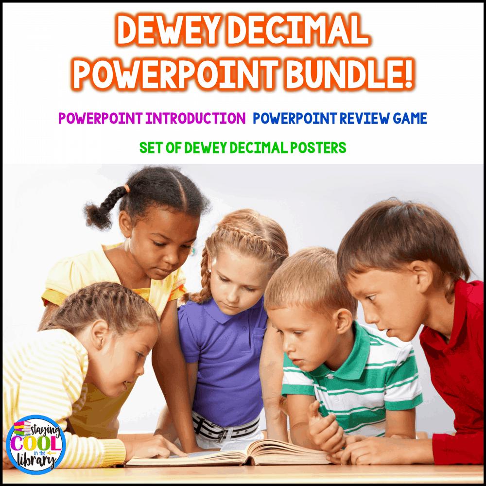 Dewey Decimal System PowerPoint Bundle