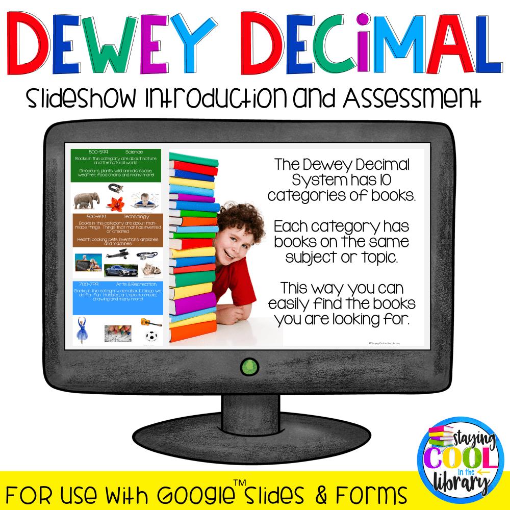 Dewey Decimal System Introduction & Review BUNDLE - Google Edition