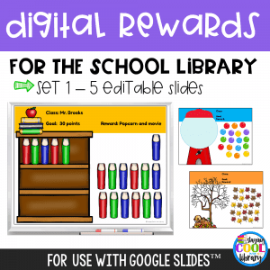 Digital Rewards for the School Library - Set 1