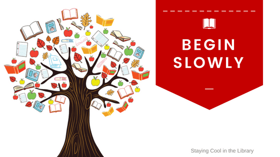 Begin slowly with teacher-librarian collaboration