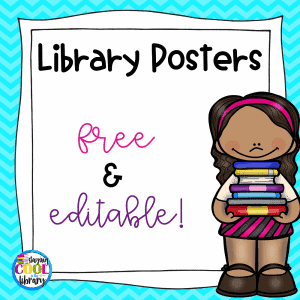 Library Posters - Free and Editable