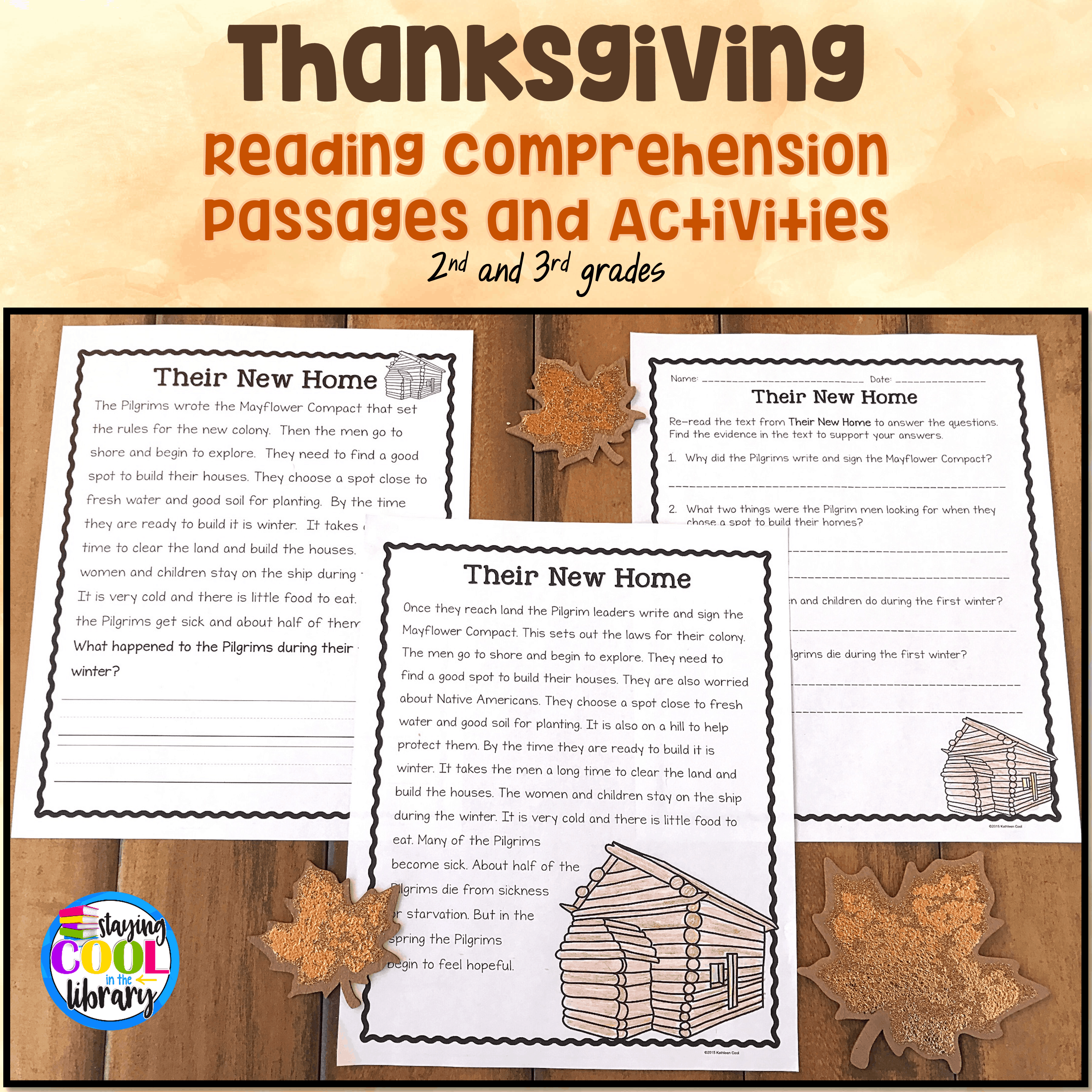 - Thanksgiving Reading Comprehension Passages And Activities