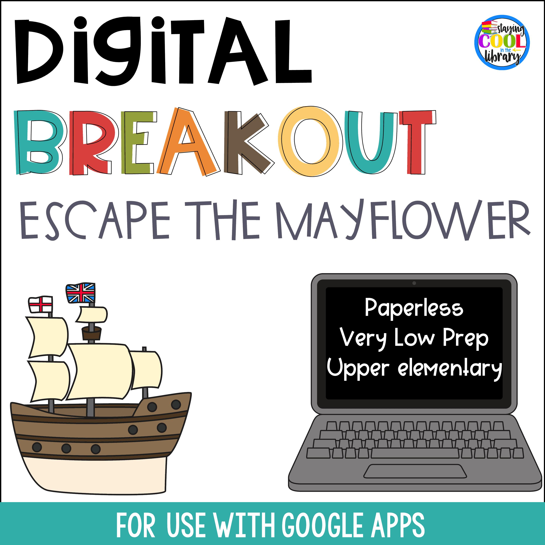 Thanksgiving Digital Breakout - Escape the Mayflower