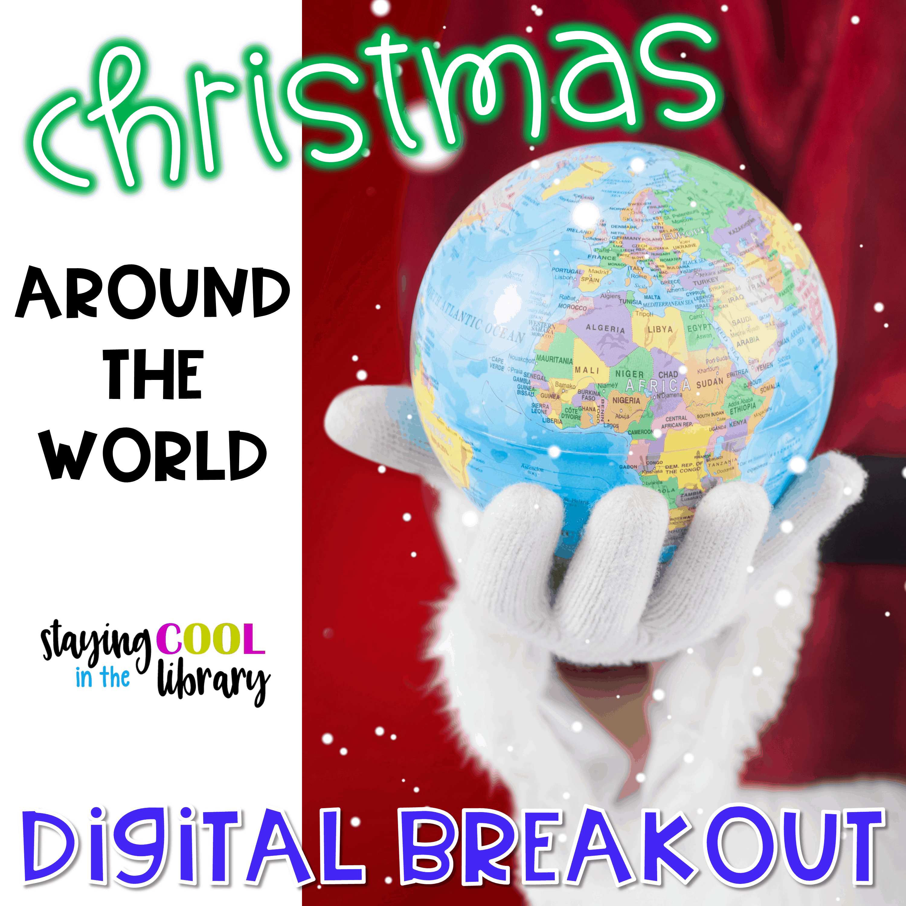 Christmas Activity - Around the World Digital Breakout