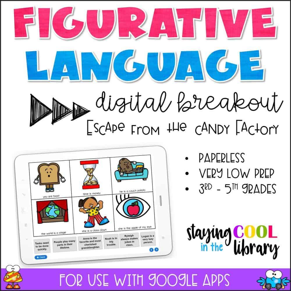 Figurative Language Digital Breakout