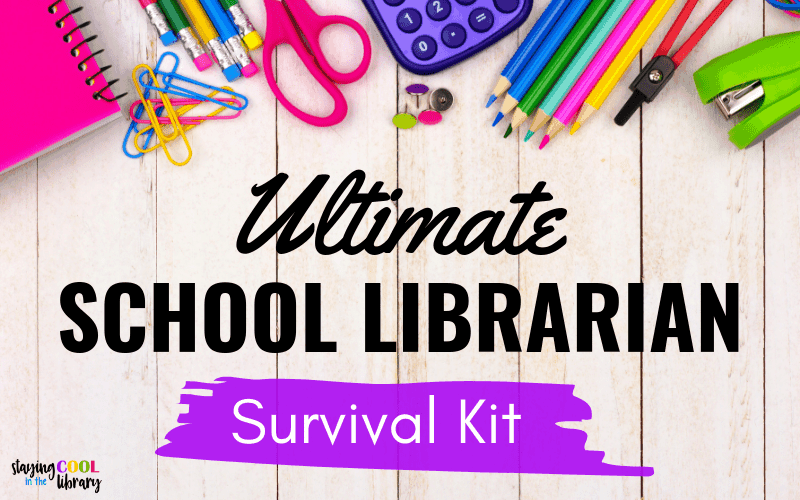 The ultimate school librarian survival kit!