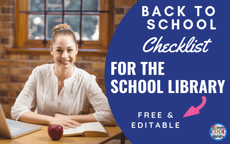 Back to school checklist for school librarians