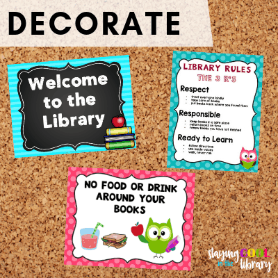 Decorate the Library