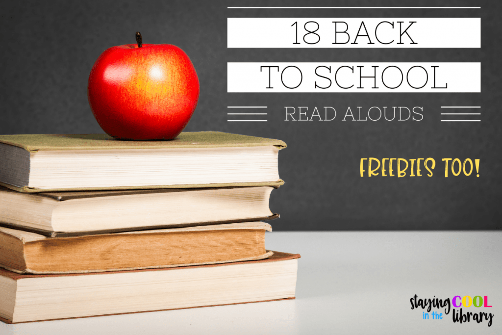 18 back to school read alouds