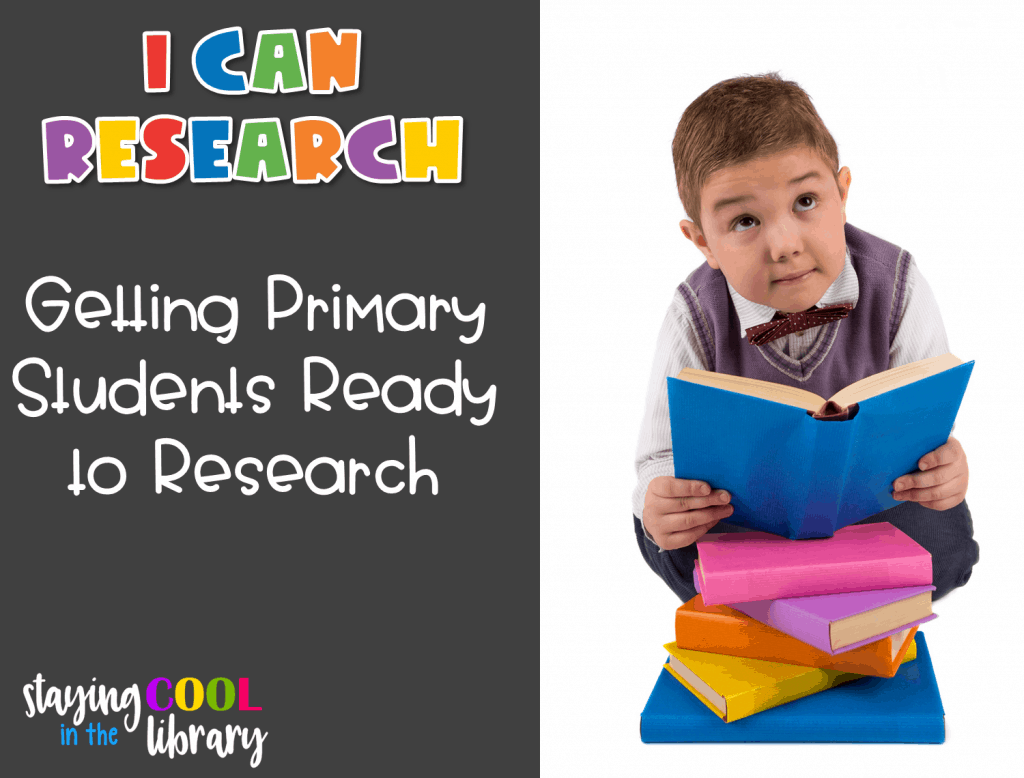 Getting primary students ready to research