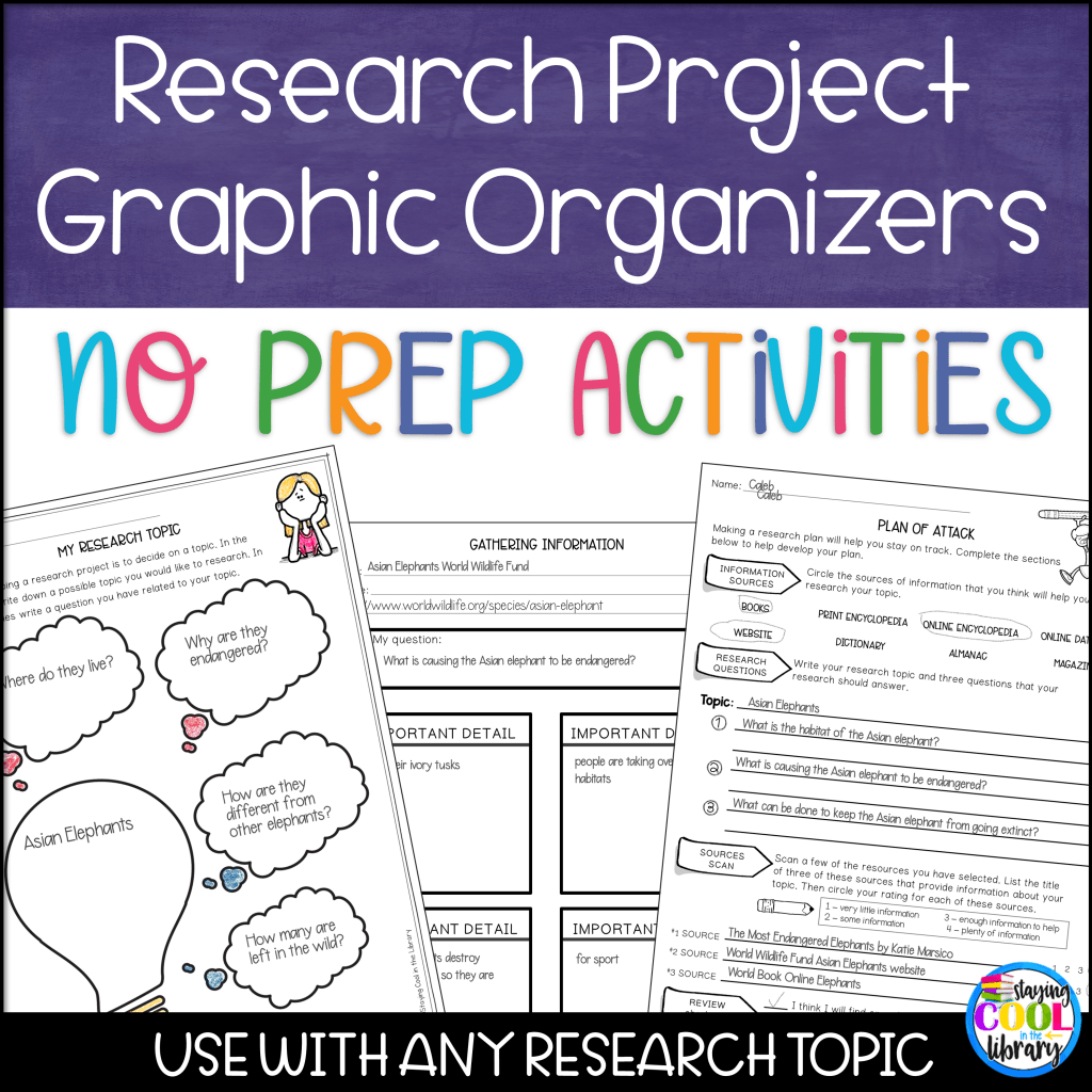 teaching the research process no prep activities