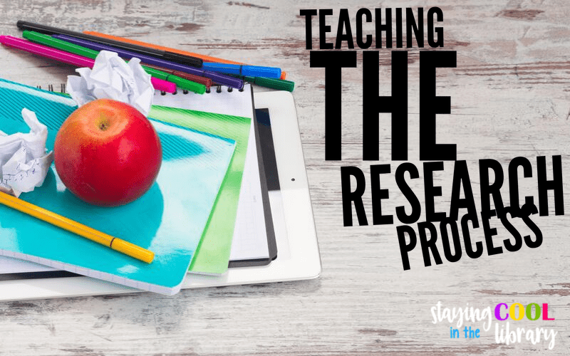 Teaching the research process