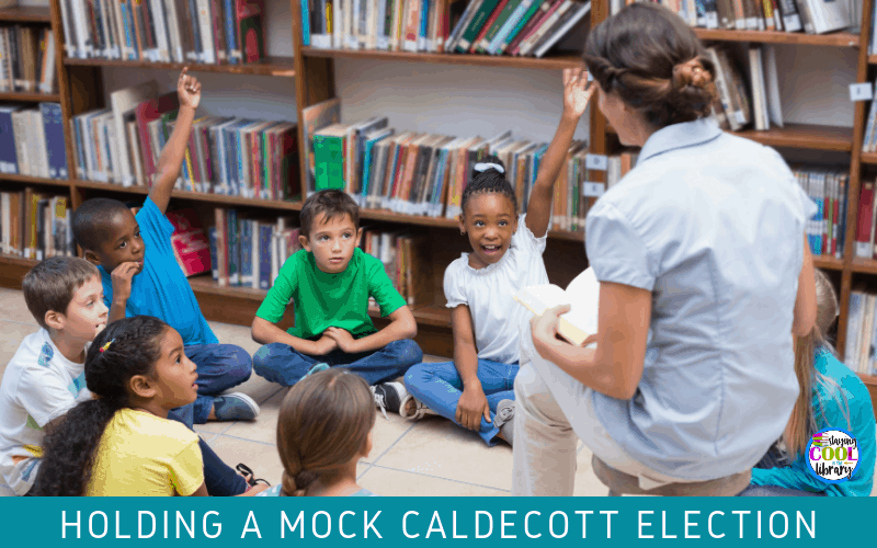 Holding a mock Caldecott Election