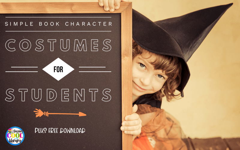 SImple Book Character Costumes for Students