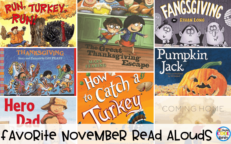Favorite November Read Alouds