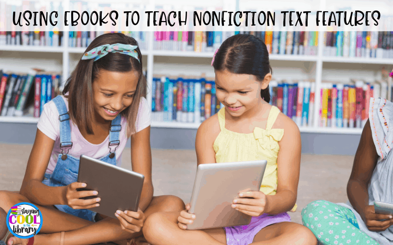 Children reading an ebook