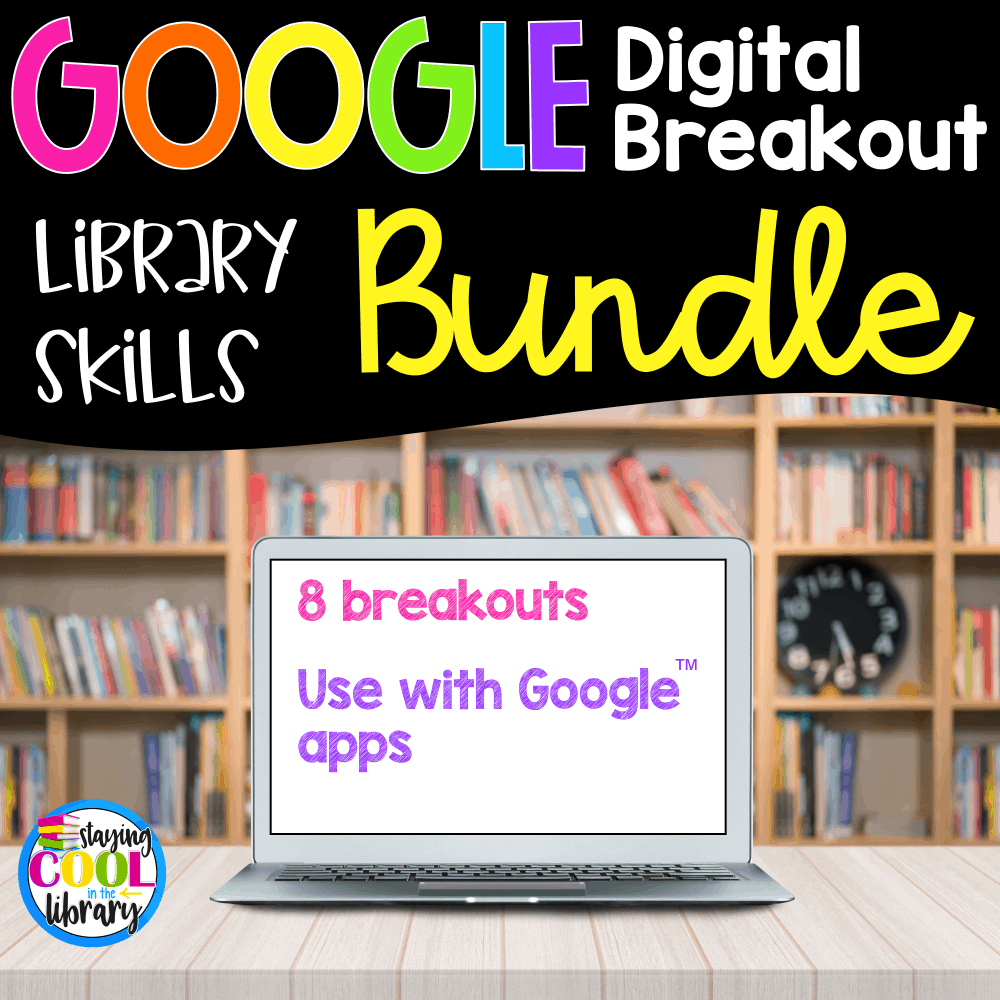 Library Skills Digital Breakouts
