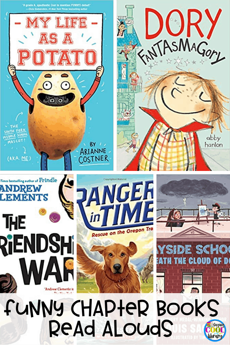 Funny chapter books read aloud
