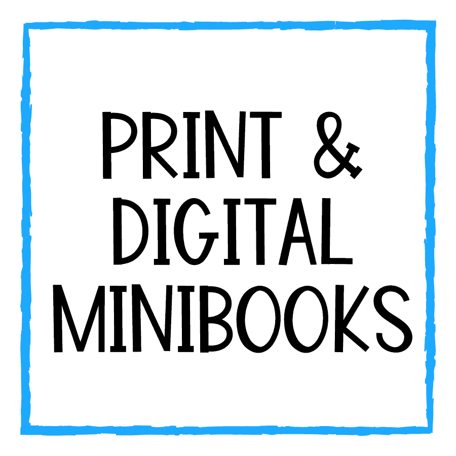 Print and Digital Minibooks